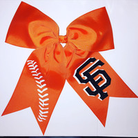 SF Giants Hair Bow