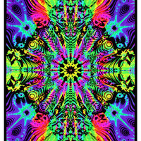Wormhole Blacklight Poster Print Photo at AllPosters.com