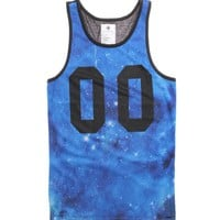 On The Byas The Mike Mesh Tank Top - Mens Tee - Black