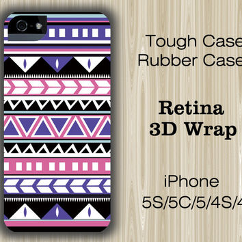 Aztec Tribal Geometric Stripes iPhone 6/5S/5C/5/4S/4 Case