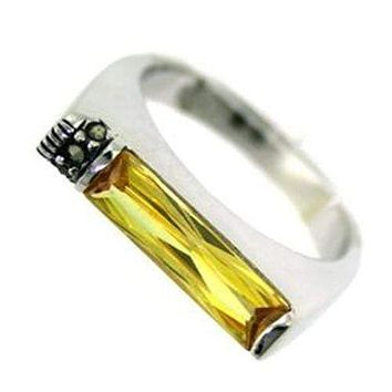 Sterling Silver Band Rings LOAS724 Rhodium 925 Sterling Silver Ring