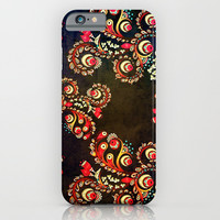 PAISLEY PATTERN 2 - for iphone iPhone & iPod Case by Simone Morana Cyla