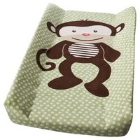 Summer Infant Monkey Changing Pad Cover - Green