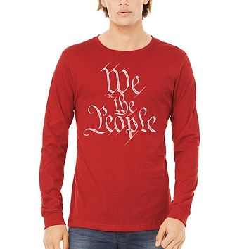 We the People Unisex Long Sleeve Tee