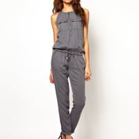 River Island | River Island Utility Jumpsuit at ASOS