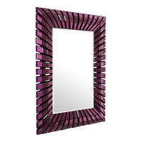 Rectangular Purple Sunburst Mirror | Eichholtz Ganduca
