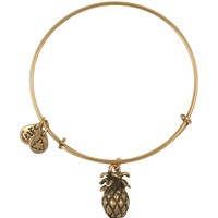 Alex and Ani Pineapple Expandable Wire Bangle