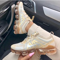 Nike Sneakers Sport Shoes Vapormax CreamGold