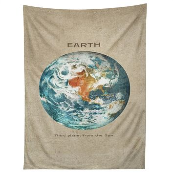 Terry Fan Planet Earth Tapestry