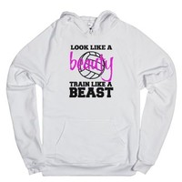 Look like a beauty train like a Volleyball Beast Hoodie