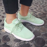 VANS ISO 1.5 + (Mesh) Pastel Green UltraCush Womens Casual Trainers
