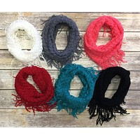 Cozy Up to Me Scarf: Multiple Colors