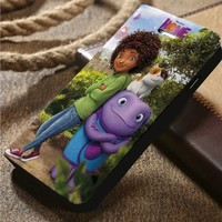 Dreamworks Home Custom Wallet iPhone 4/4s 5 5s 5c 6 6plus 7 and Samsung Galaxy s3 s4 s5 s6 s7 case