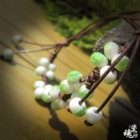 Pottery Accessory Handcrafts Style Green Jewelry [6586057415]