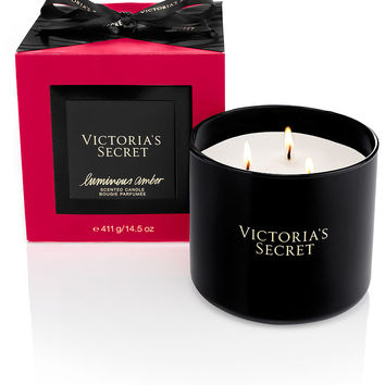 NEW! Luminous Amber Scented Candle