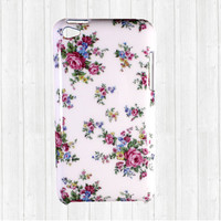 iPod Touch 4g case, iPod Touch 4 case - Rose Flower White Hard Case Cover Skin for Apple iPod 4 Gen 4th Generation