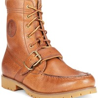 Polo Ralph Lauren Ranger Boots tan color