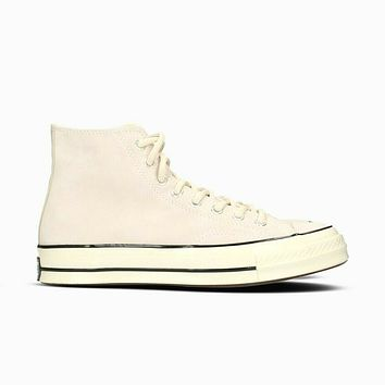 Converse Chuck Taylor All Star 70 Hi Natural Ivory Suede 162372C Mens Sneakers