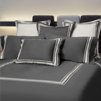 Tivoli Bed Linens | Lead Grey