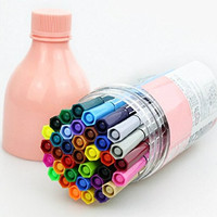 Set of 24 - ZICOME New Office Colored Fine Liner Sketch Drawing Pens - Amazing Rainbow Colored Fine Liner Ink Pen Set for Adults and Kids