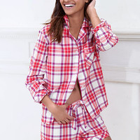 Cotton Mayfair Boxer Pajama - Victoria's Secret