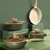 OAPE Large Capacity Medical Stone Non-stick Stew Cooking Soup Pots