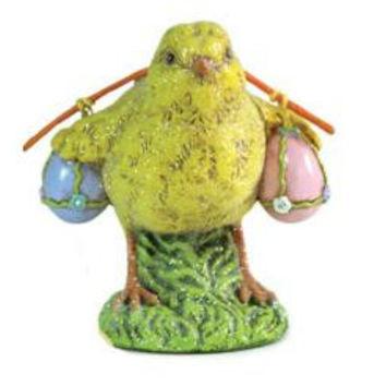 Easter Figure - Chick With Eggs