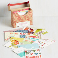 All-Occasion Notecard Set by Chronicle Books from ModCloth