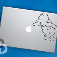 Winnie the Pooh Sticker Decal for MacBook Pro by DecalDecals