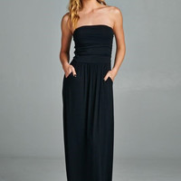 Everyday Maxi Dress - Black
