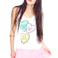 Hug Me, Love Me Tank Top