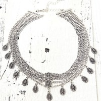 With Love From CA Statement Choker - Womens Jewelry - Silver - One