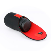 H08 Red and black S lens Bag for Camera