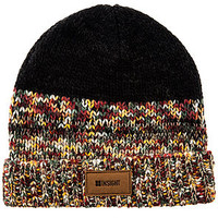 The Sonic Speckle Beanie in Dirty Boot Black