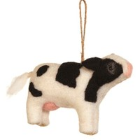 Sage & Co | Wool Dairy Cow Ornament | Nordstrom Rack