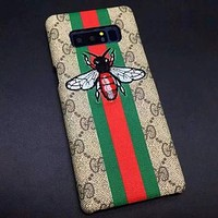 Perfect Gucci Embroidery Fashion Samsung Galaxy Cover Case For Note8