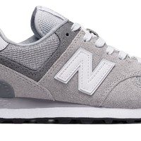 Women's New Balance 574 Core Plus Overcast/Grey WL574CA