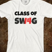 Class of '14 (swag) on front