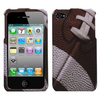MYBAT IPHONE4HPCIM908NP Slim and Stylish Protective Case for iPhone 4 - 1 Pack - Retail Packaging - Football-Sports