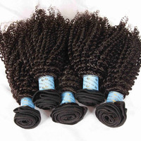 Brazilian Hair weave Kinky style tangle free