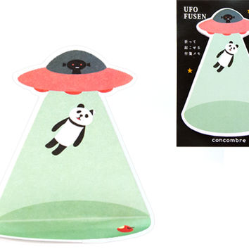 UFO PANDA ABDUCTION STAND UP NOTES