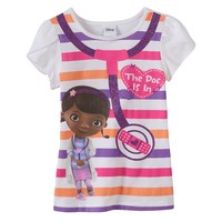 Disney's Doc McStuffins ''The Doc Is In'' Tee - Girls