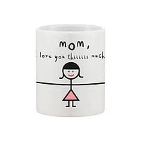 Mother's Day Cute Coffee Mug Cup for Mom - Mom, I Love You Thiiiiiis Much