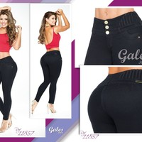 100%  Authentic Colombian Push Up  Jeans  11857  by Gales (R)