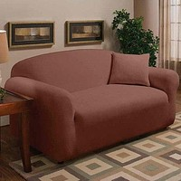 Stretch Microfleece Loveseat Cover