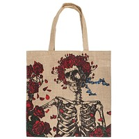 Grateful Dead - Bertha Jute Tote Bag