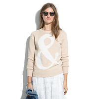 Ampersand Pullover