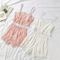 Sweet Lolita Lace Pajama Set