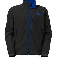 The North Face Mens Apex Bionic Jacket in Black and Monster Blue C757-X3X