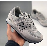 New Balance NB574 retro casual sports shoes for men and women, classic 574 series